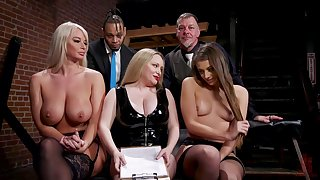 Aiden Starr is a masterful crestfallen bit of all right who gets off on over-exacting slaves