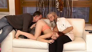Several old granny s with the addition of man fucks big tits milf Unexpected