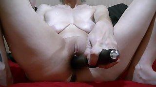 Quick Masterbation Beside Black Vibrator