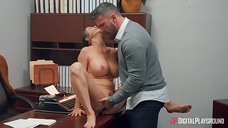 Elegant MILF Alexis Fawx lets loose nigh an date setting