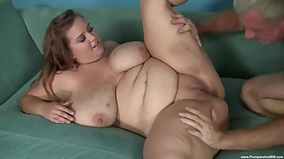A big dick for this BBW apropos a hot amateur cam play