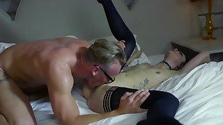 Inked porn honey gets rammed by her boyfriend